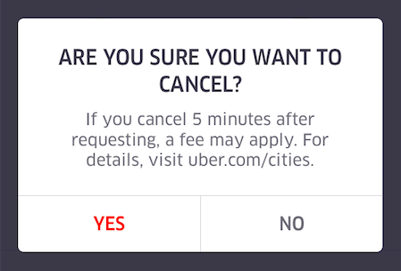 Idiomatic Bootcamp #2: Uber & Lyft Cancellation Fees (infographic ...